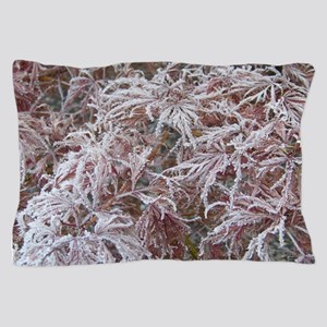 Japanese Maple in Frost Pillow Case