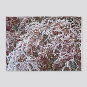 Japanese Maple in Frost 5'x7'Area Rug