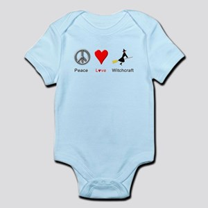Peace Love Witchcraft Infant Bodysuit