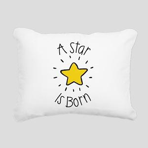 A Star is Born Rectangular Canvas Pillow