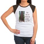 When Things are Overwhelming Women's Cap Sleeve T-