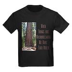 When Things are Overwhelming Kids Dark T-Shirt
