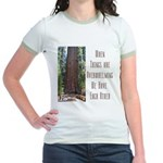 When Things are Overwhelming Jr. Ringer T-Shirt