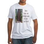 When Things are Overwhelming Fitted T-Shirt