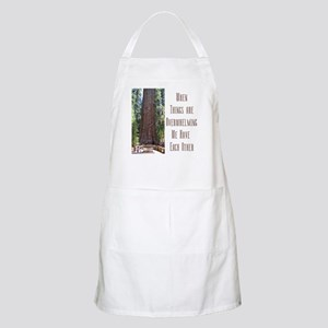 When Things are Overwhelming BBQ Apron