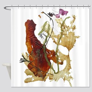 Seaweeds Shower Curtain