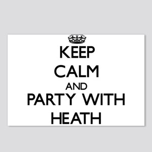Keep calm and Party with Heath Postcards (Package