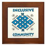 Inclusive Community Framed Tile