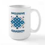 Inclusive Community Large Mug