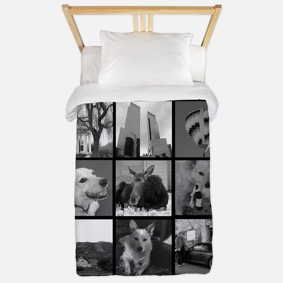 Your Photos Here - Photo Block Twin Duvet