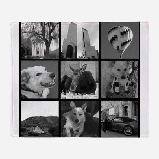 Your Photos Here - Photo Block Throw Blanket