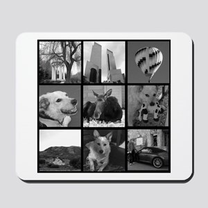 Your Photos Here - Photo Block Mousepad