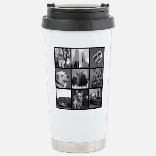 Your Photos Here - Photo Block Travel Mug