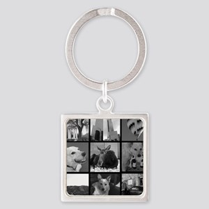 Your Photos Here - Photo Block Keychains