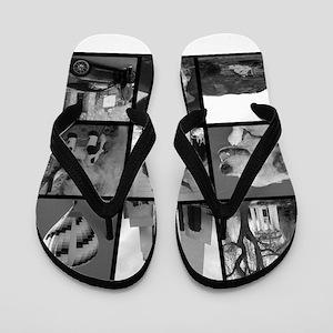 Your Photos Here - Photo Block Flip Flops