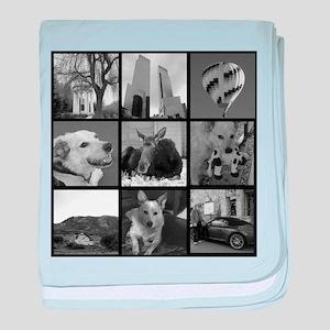 Your Photos Here - Photo Block baby blanket