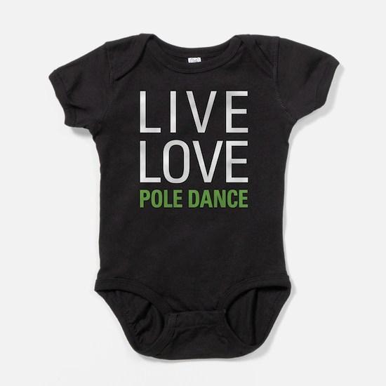 Pole Dance Baby Bodysuit
