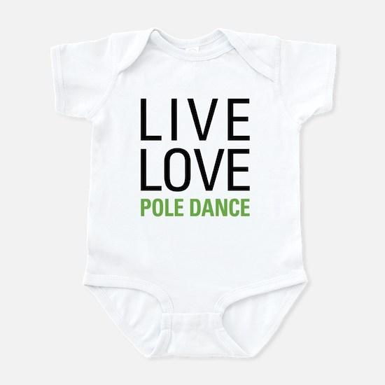 Pole Dance Infant Bodysuit