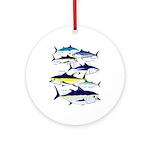 7 tuna Ornament (Round)