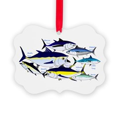 7 tuna Ornament