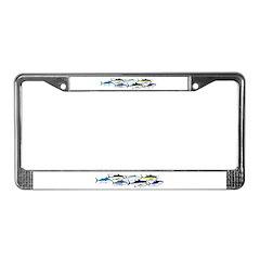 7 tuna License Plate Frame