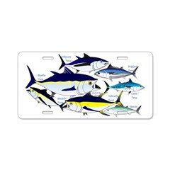 7 tuna Aluminum License Plate