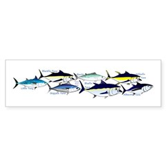7 tuna Bumper Bumper Sticker