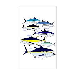 7 tuna Decal