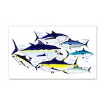 7 tuna Wall Decal