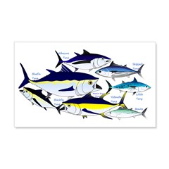 7 tuna Wall Decal