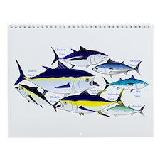 Fish Patterns 4 Wall Calendar