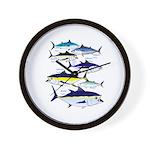 7 tuna Wall Clock