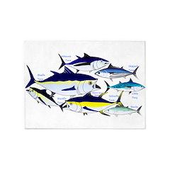 7 tuna 5'x7'Area Rug