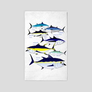 7 tuna 3'x5' Area Rug