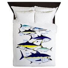 7 tuna Queen Duvet
