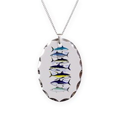 7 tuna Necklace