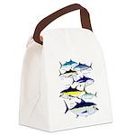 7 Tuna c Canvas Lunch Bag