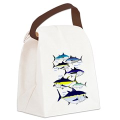7 Tuna c Canvas Lunch Bag