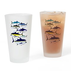 7 Tuna c Drinking Glass