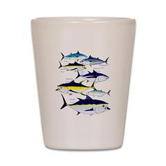 7 Tuna c Shot Glass