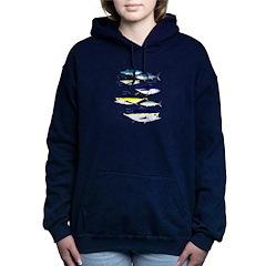 7 Tuna c Women's Hooded Sweatshirt