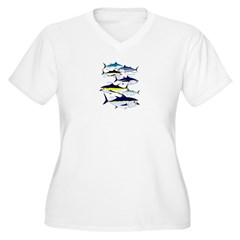 7 Tuna c Plus Size T-Shirt