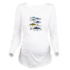 7 Tuna c Long Sleeve Maternity T-Shirt