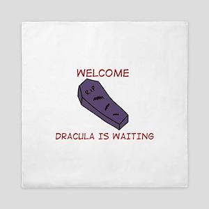Dracula Is Waiting Queen Duvet