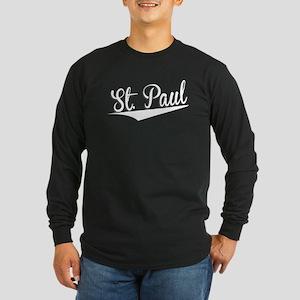 St. Paul, Retro, Long Sleeve T-Shirt