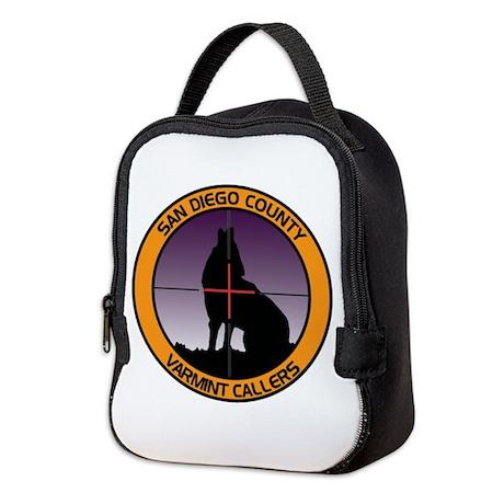 SDCVC Color Logo Neoprene Lunch Bag
