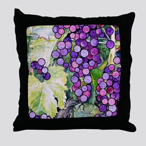grape2 Throw Pillow