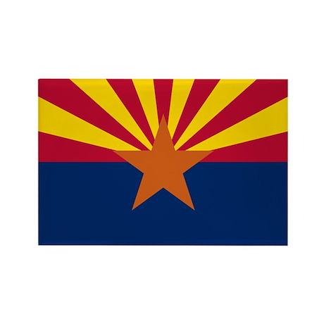 Arizona Rectangle Magnet