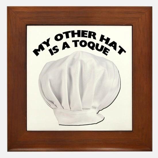 Chef's Hat Framed Tile