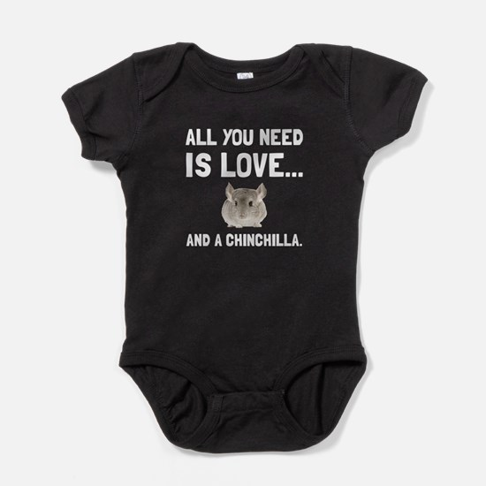 Love And A Chinchilla Baby Bodysuit